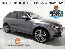 Audi SQ5 Quattro 3.0T Premium Plus *BLACK OPTIC PKG, NAVIGATION, SIDE ASSIST, BANG & OLUFSEN, BACKUP-CAMERA, NAPPA LEATHER, PANORAMA SUNROOF 2016