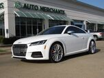 2016 Audi TTS 2.0T quattro S tronic RED LEATHER, NAVIGATION, BACKUP CAMERA, PADDLE SHIFTERS DRIVE MODES, BLUETOOTH