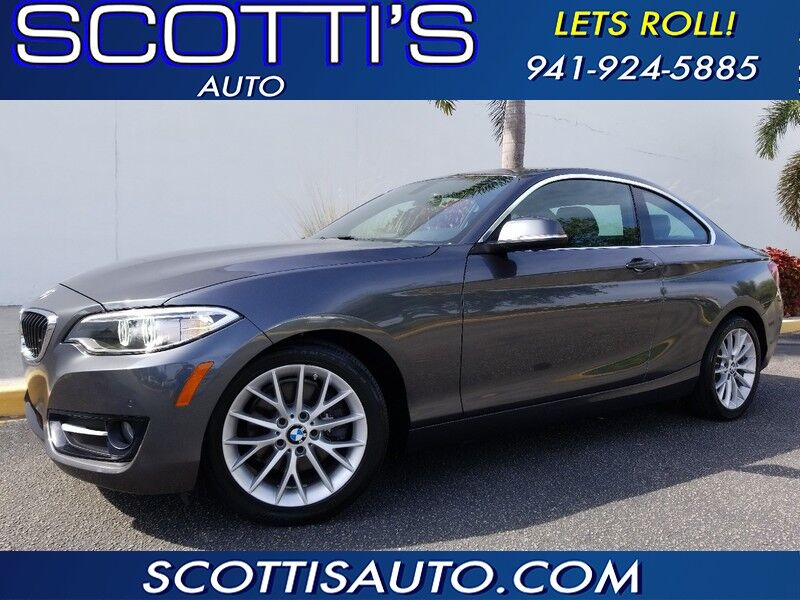 2016 BMW 2 Series 228i COUPE~ ONLY 19K MILES~ BEAUTIFUL CAR~ CLEAN CARFAX~ Sarasota FL