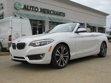 2016_BMW_2-Series_228i Convertible LEATHER,BACKUP CAMERA,BLUETOOTH CONNECTION,PARK ASSIST,KEYLESS START_ Plano TX