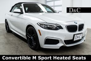 2016_BMW_2 Series_228i Convertible M Sport Heated Seats_ Portland OR