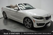 BMW 2 Series 228i Convertible NAV,CAM,HTD STS,PARK AST,18IN WLS 2016