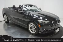 BMW 2 Series 228i Convertible SPORT LINE,NAV,HTD STS,17IN WHLS 2016