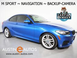 2016_BMW_2 Series 228i Coupe_*M SPORT PKG, NAVIGATION, BACKUP-CAMERA, LEATHER, MOONROOF, COMFORT ACCESS, HEATED SEATS, LIGHTING PKG, BLUETOOTH PHONE & AUDIO_ Round Rock TX