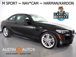 2016_BMW_2 Series 228i Coupe_*M SPORT PKG, NAVIGATION, BACKUP-CAMERA, MOONROOF, LEATHER, HARMAN/KARDON, HEATED SEATS, COMFORT ACCESS, BLUETOOTH_ Round Rock TX