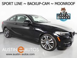 2016_BMW_2 Series 228i Coupe_*SPORT LINE, BACKUP-CAMERA, MOONROOF, PARK DISTANCE CONTROL, SPORT BUCKET SEATS, ALLOY WHEELS, BLUETOOTH PHONE_ Round Rock TX