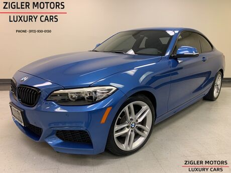 2016 BMW 2 Series 228i M Sport Coupe Stunning Estorile Blue One Owner Clean Carfax Warranty until 5/2020 Addison TX