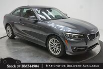 BMW 2 Series 228i SPORT LINE,NAV,SUNROOF,HTD STS,17IN WHLS 2016