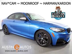 2016_BMW_2 Series M235i_*NAVIGATION, PERFORMANCE EXHAUST, LIMITED SLIP DIFFERENTIAL, BACKUP-CAM, MOONROOF, LEATHER, HEATED SEATS/STEERING WHEEL, HARMAN/KARDON, BLUETOOTH_ Round Rock TX