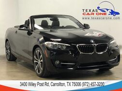 2016_BMW_228i Convertible_DRIVER ASSIST PKG TECH PKG SPORT PKG NAVIGATION LEATHER HEATED S_ Carrollton TX