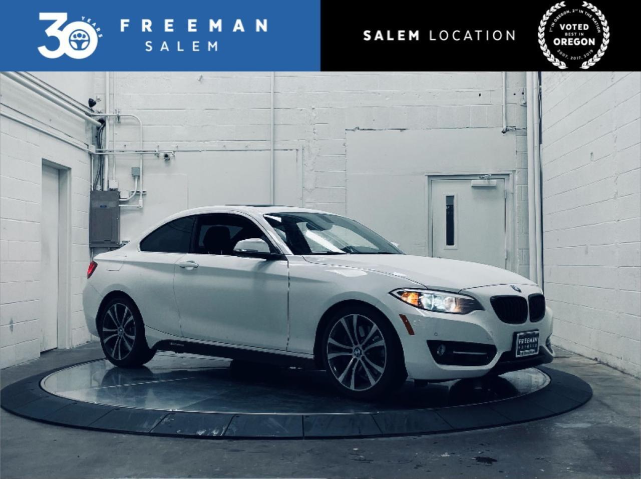 2016 BMW 228i Track Handling Package Backup Camera Salem OR