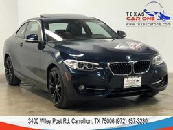 2016_BMW_228i xDrive_AWD SPORT LINE PREMIUM TECHNOLOGY DRIVER ASSIST PKG DRIVER ASSIS_ Carrollton TX