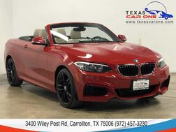 2016_BMW_228i xDrive Convertible_AWD M SPORT LEATHER HEATED SEATS BLUETOOTH PADDLE SHIFTERS_ Carrollton TX