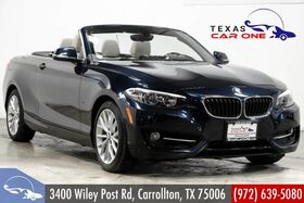 2016_BMW_228i xDrive Convertible_AWD SPORT PKG PREMIUM PKG TECHNOLOGY PKG NAVIGATION_ Carrollton TX
