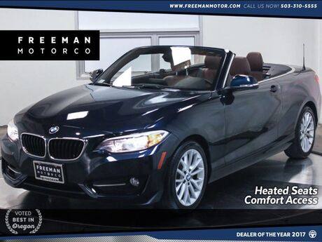 2016 BMW 228i xDrive Convertible Comfort Access Heated Seats Portland OR