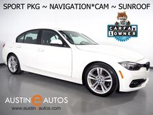 BMW 3 Series 320i Sedan *SPORT PKG, NAVIGATION, BACKUP-CAMERA, MOONROOF, COMFORT ACCESS, HEATED SEATS, BLUETOOTH PHONE & AUDIO 2016