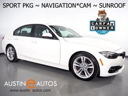 2016_BMW_3 Series 320i Sedan_*SPORT PKG, NAVIGATION, BACKUP-CAMERA, MOONROOF, COMFORT ACCESS, HEATED SEATS, BLUETOOTH PHONE & AUDIO_ Round Rock TX