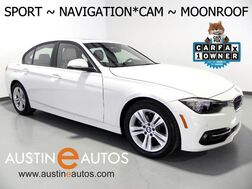 2016_BMW_3 Series 328i_*SPORT LINE, NAVIGATION, BACKUP-CAMERA, MOONROOF, ALLOY WHEELS, BLUETOOTH PHONE & AUDIO_ Round Rock TX