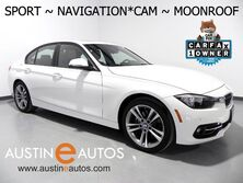BMW 3 Series 328i *SPORT LINE, NAVIGATION, BACKUP-CAMERA, MOONROOF, DAKOTA LEATHER, HEATED SEATS, BLUETOOTH PHONE & AUDIO 2016