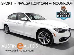 2016_BMW_3 Series 328i_*SPORT LINE, NAVIGATION, BACKUP-CAMERA, MOONROOF, DAKOTA LEATHER, HEATED SEATS, BLUETOOTH PHONE & AUDIO_ Round Rock TX