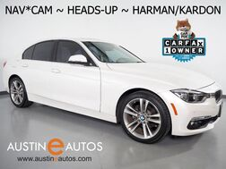 2016_BMW_3 Series 328i Sedan_*LUXURY LINE, HEADS-UP DISPLAY, NAVIGATION, BACKUP-CAMERA, HARMAN/KARDON, DAKOTA LEATHER, MOONROOF, HEATED SEATS, COMFORT ACCESS, BLUETOOTH_ Round Rock TX