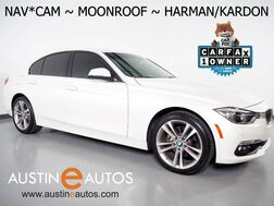 2016_BMW_3 Series 328i Sedan_*LUXURY LINE, NAVIGATION, BACKUP-CAMERA, DAKOTA LEATHER, MOONROOF, COMFORT ACCESS, HARMAN/KARDON, HEATED SEATS, BLUETOOTH_ Round Rock TX