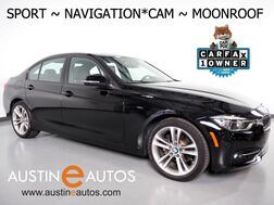 2016_BMW_3 Series 328i Sedan_*NAVIGATION, BACKUP-CAMERA, MOONROOF, DAKOTA LEATHER, COMFORT ACCESS, BLUETOOTH PHONE & AUDIO_ Round Rock TX