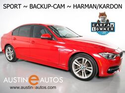 2016_BMW_3 Series 328i Sedan_*SPORT LINE, BACKUP-CAMERA, MOONROOF, HARMAN/KARDON, COMFORT ACCESS, 18 INCH WHEELS, BLUETOOTH PHONE & AUDIO_ Round Rock TX