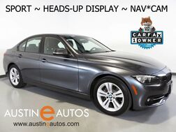 2016_BMW_3 Series 328i Sedan_*SPORT LINE, HEADS-UP DISPLAY, NAVIGATION, BACKUP-CAMERA, MOONROOF, BLUETOOTH PHONE & AUDIO_ Round Rock TX