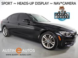 2016_BMW_3 Series 328i Sedan_*SPORT LINE, HEADS-UP DISPLAY, NAVIGATION, BACKUP-CAMERA, MOONROOF, DAKOTA LEATHER, HEATED SEATS, COMFORT ACCESS, BLUETOOTH_ Round Rock TX