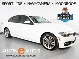 2016_BMW_3 Series 328i Sedan_*SPORT LINE, NAVIGATION, BACKUP-CAMERA, MOONROOF, COMFORT ACCESS, ALLOY WHEELS, BLUETOOTH PHONE & AUDIO_ Round Rock TX