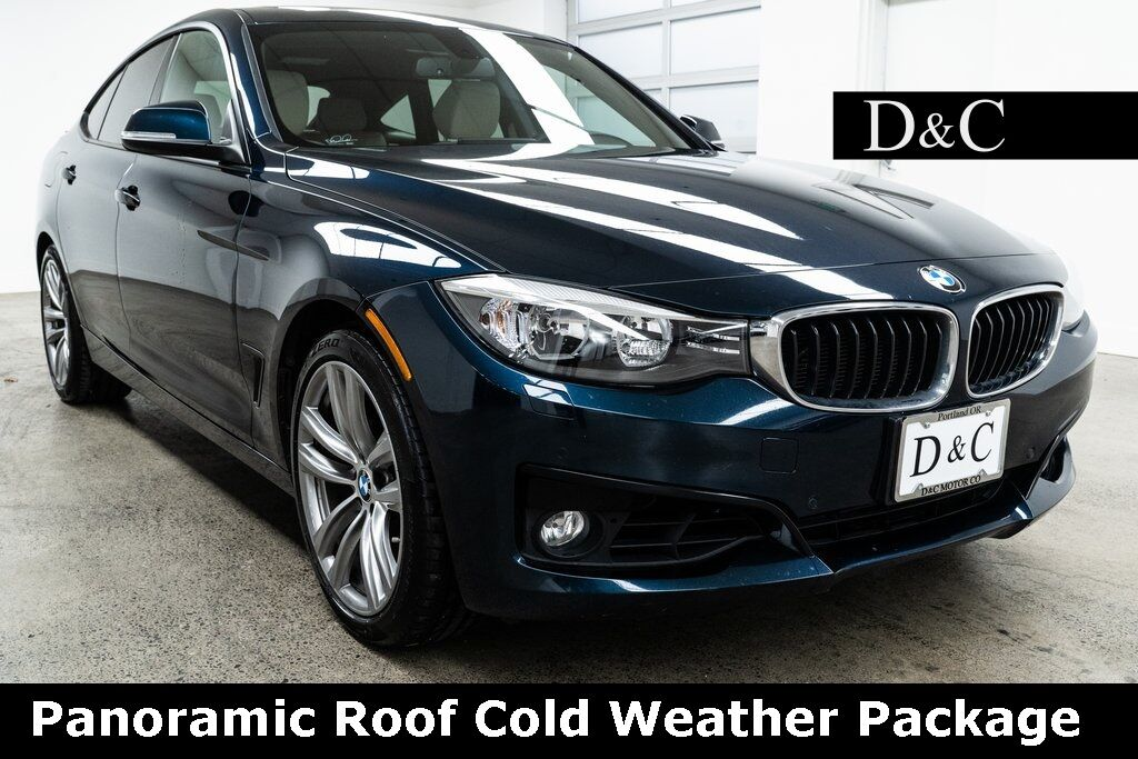 2016 BMW 3 Series 328i xDrive Gran Turismo Panoramic Roof Cold Weather Package Portland OR