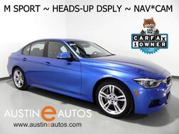 2016_BMW_3 Series 328i xDrive_*M SPORT, HEADS-UP DISPLAY, NAVIGATION, BACKUP-CAMERA, HARMAN/KARDON, MOONROOF, LEATHER, HEATED SEATS/STEERING WHEEL, BLUETOOTH_ Round Rock TX