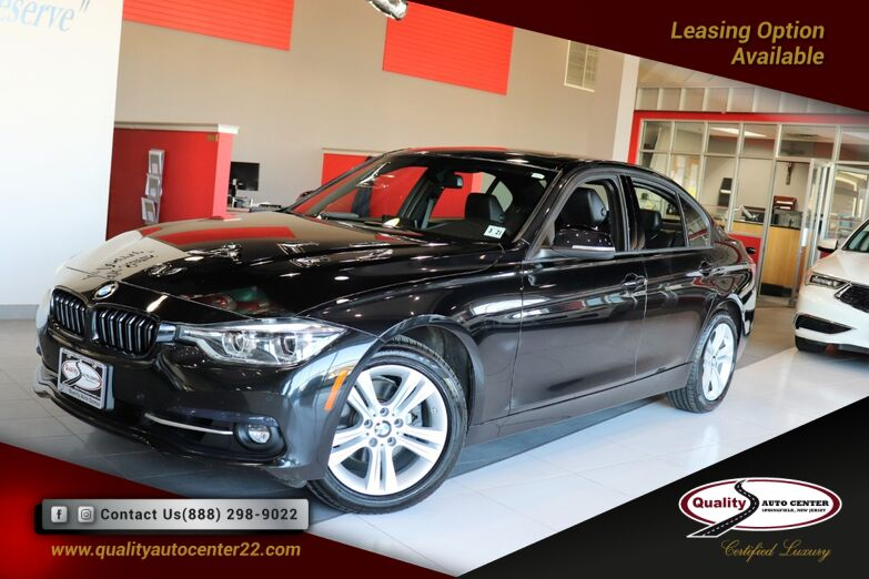 2016 BMW 3 Series 328i xDrive Premium Cold Weather Driving Assistance Navigation System Sunroof Springfield NJ