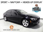 2016 BMW 3 Series 328i xDrive *SPORT LINE, HEADS-UP DISPLAY, NAVIGATION, BACKUP-CAMERA, MOONROOF, LEATHER, HEATED SEATS/STEERING WHEEL, COMFORT ACCESS, BLUETOOTH