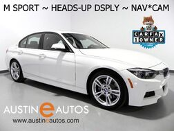 2016_BMW_3 Series 330e Plug-In Hybrid_*M SPORT, HEADS-UP DISPLAY, NAVIGATION, BACKUP-CAMERA, PARKING ASSISTANT, DAKOTA LEATHER, HEATED SEATS, MOONROOF, HARMAN/KARDON, BLUETOOTH_ Round Rock TX