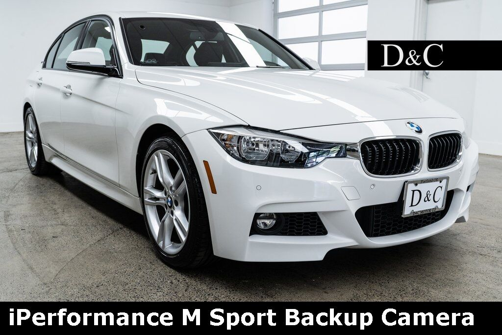 2016 BMW 3 Series 330e iPerformance M Sport Backup Camera Portland OR