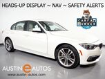 2016 BMW 3 Series 340i *HEADS-UP DISPLAY, NAVIGATION, BLIND SPOT ALERT, DRIVING ASSISTANT, TOP/SIDE/REAR CAMERAS, HEATED SEATS/STEERING WHEEL, MOONROOF, HARMAN/KARDON