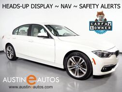 2016_BMW_3 Series 340i_*HEADS-UP DISPLAY, NAVIGATION, BLIND SPOT ALERT, DRIVING ASSISTANT, TOP/SIDE/REAR CAMERAS, HEATED SEATS/STEERING WHEEL, MOONROOF, HARMAN/KARDON_ Round Rock TX