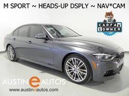 2016_BMW_3 Series 340i_*M SPORT, NAVIGATION, HEADS-UP DISPLAY, HARMAN/KARDON, BACKUP-CAMERA, LEATHER, HEATED SEATS, COMFORT ACCESS, BLUETOOTH PHONE & AUDIO_ Round Rock TX