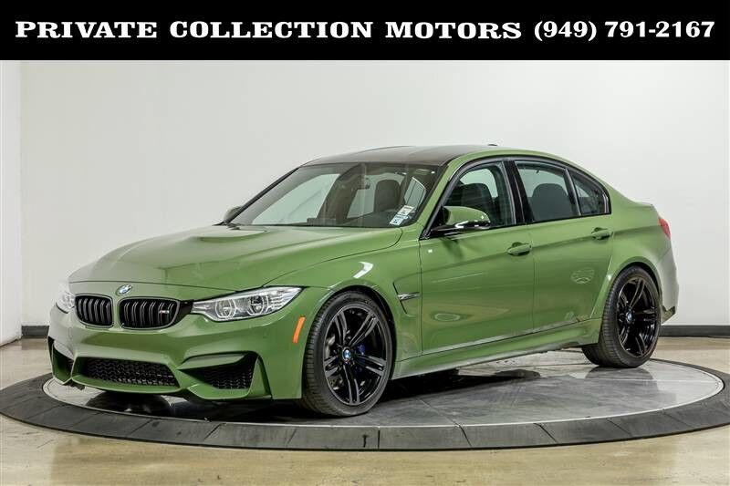 2016 BMW 3-Series M3 MSRP $83,835 Executive Pkg Costa Mesa CA