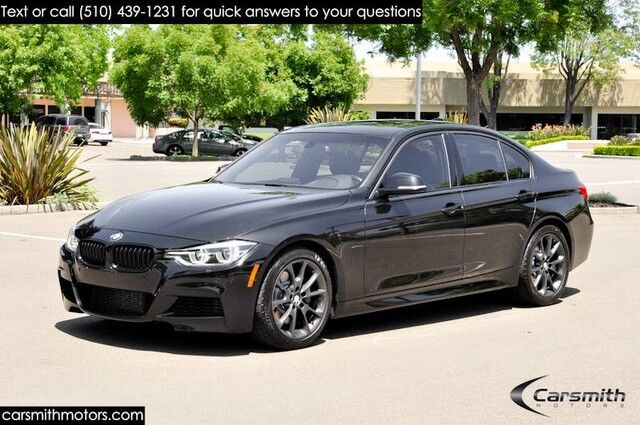 2016 BMW 328 M Sport Sedan w/Track Handling Pkg MSRP $48,375 Drivers Assistance/M Sport Brake/One Owner Fremont CA