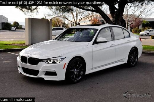 2016 BMW 328 M Sport Sedan w/Track Handling Pkg MSRP $51,950 Drivers Assistance/Premium/Tech with Heads Up! Fremont CA