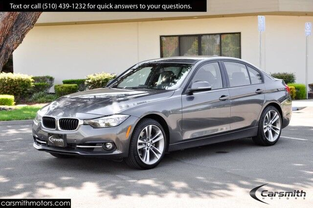 2016 BMW 328 Sport Sedan w/Drivers Assistance MSRP $42,210 18 Wheels/ only 18K Miles!!!Heated Seats Fremont CA