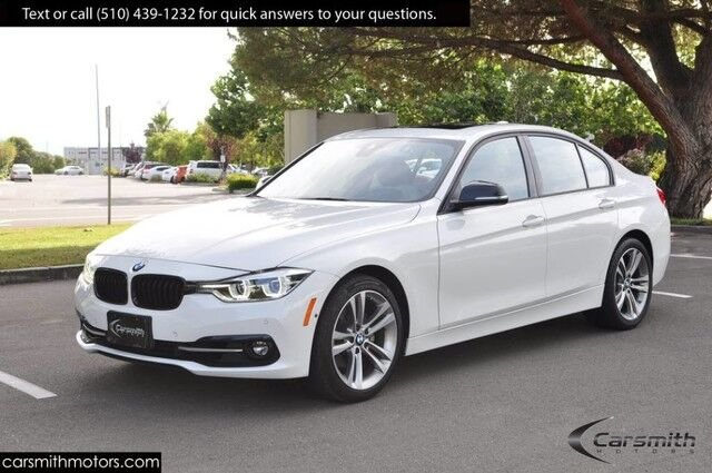 2016 BMW 328 Sport Sedan w/Drivers Assistance Plus MSRP $51,770 Tech with Heads Up/ONLY 20K Miles!!!/Saddle Brown Leather Fremont CA