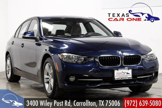 2016 BMW 328i xDrive AWD SPORT PKG DRIVING ASSIST PKG NAVIGATION SUNROOF LEATHER HEATED SPORT SEATS Carrollton TX
