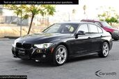 2016 BMW 340 M Sport Sedan with Drivers Assistance MSRP $56025 Cold Weather Pkg/One Owner/Red Leather