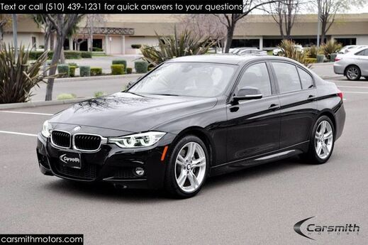 2016 BMW 340 M Sport Sedan with Drivers Assistance Plus MSRP $56895 Technology Pkg w Heads Up/Drivers Assistance/Harmon Kardon Fremont CA