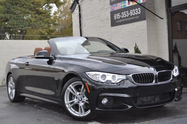 2016 BMW 4 Series 428i Convertible/M Sport Pkg/Navigation/Comfort Access/Harman Kardon Surround Sound w/ Enhanced BT/Driver Assistance Pkg w/ Side & Top View Cameras/Heated Seats/Ambient Lighting Pkg/Lighting Pkg Nashville TN