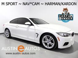2016_BMW_4 Series 428i Coupe_*M SPORT, NAVIGATION, BACKUP-CAMERA, DAKOTA LEATHER, MOONROOF, HARMAN/KARDON, COMFORT ACCESS, HEATED SEATS, BLUETOOTH_ Round Rock TX